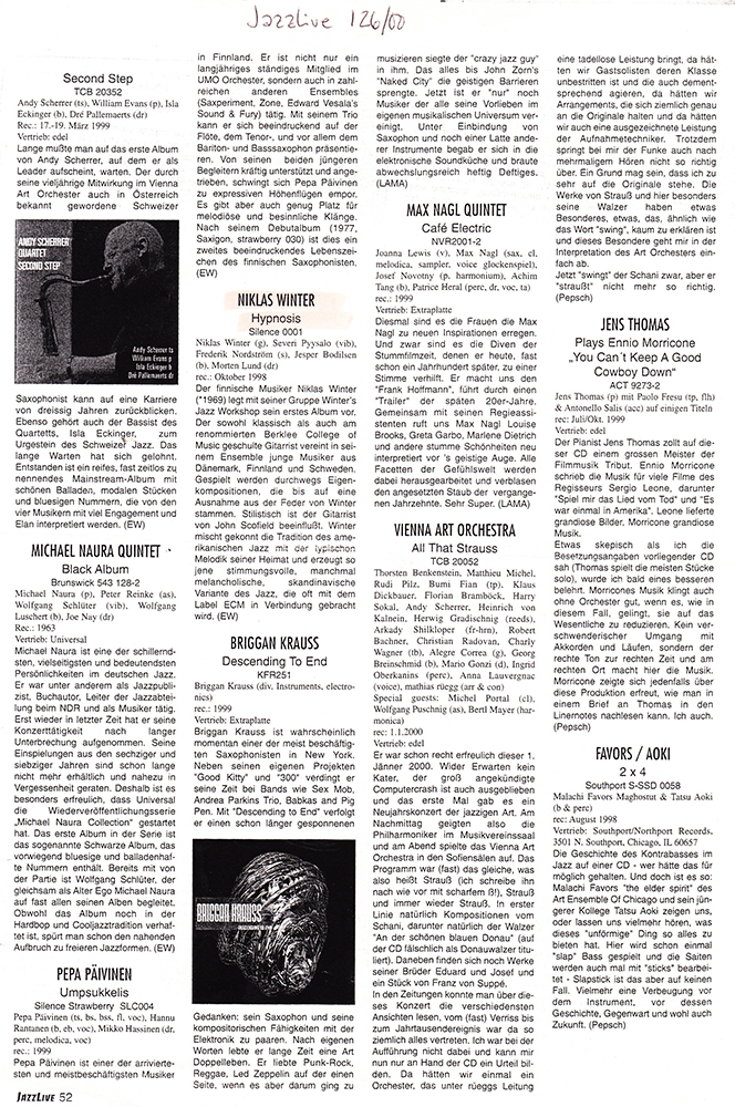 Hypnosis (Jazzlive 2000) copy